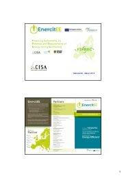 Il progetto FIPREC - Centro CISA
