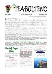 3-2010 Majo-Junio - Federazione Esperantista Italiana