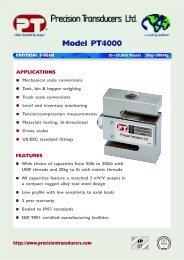 Model PT4000 - KODA