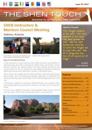 Download the full issue - SHEN Therapy UK