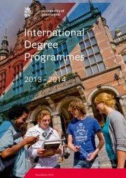 International Degree Programmes - Times Higher Education