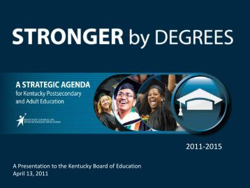 Stronger by Degrees