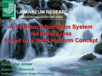 A Tourism Information System for Rural Areas based on a Multi ...