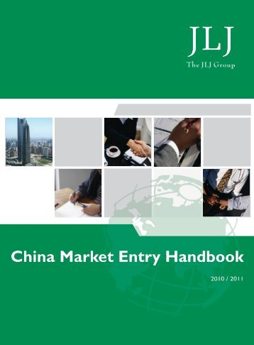 China Market Entry Handbook - Aquaculture New Zealand