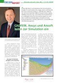 Sonderdruck aus Nr. 11/12 2009 - ANSYS Conference & CADFEM ... - Seite 2