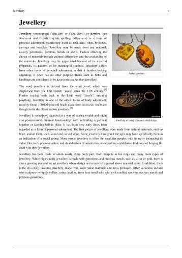 Jewellery - Feagans Jewelers