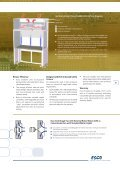 Laminar Flow Straddle Units, Single and Double - Esco - Page 5