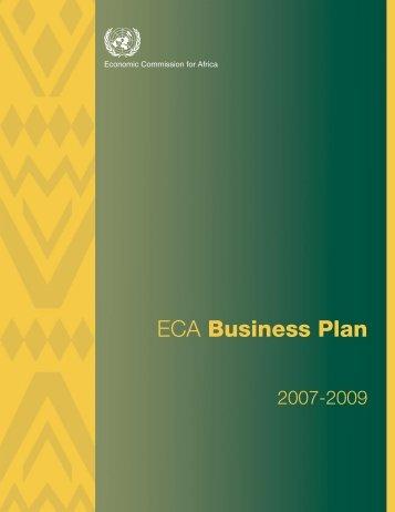 ECA Business Plan 2007-2009 - United Nations Economic ...