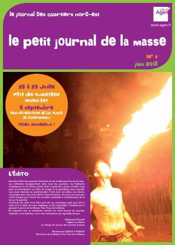 Télécharger le journal (pdf - 873 Ko) - Ville d'Agen