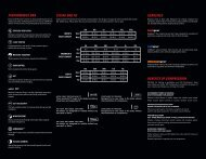 sizing and fit performance dna gearlines benefits of compression