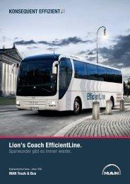 Lion's Coach EfficientLine. - MAN Truck & Bus Deutschland