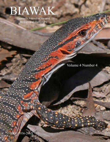 BIAWAK - International Varanid Interest Group