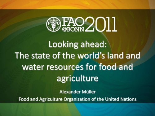 FAO) (PDF, 2 0 MB) - The Water, Energy and Food Security Nexus