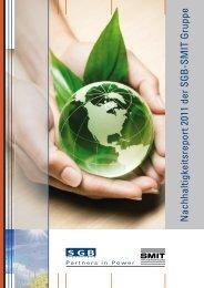 Nachhaltigkeitsreport 2011 - SGB-SMIT - manufacturer of transformers