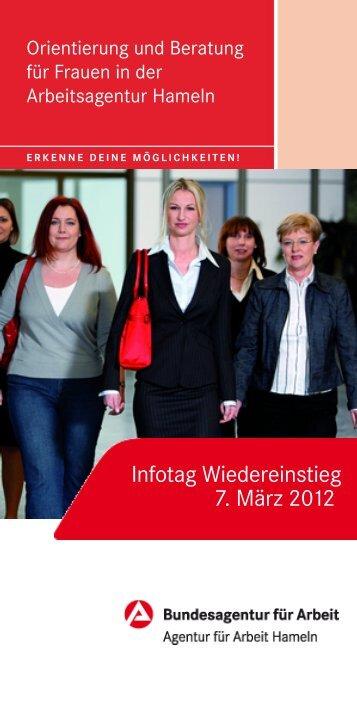 Infotag Wiedereinstieg 7. März 2012 - Koordinierungsstelle Frau und ...