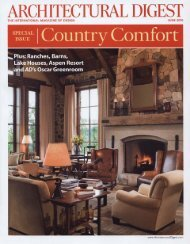 Architectural Digest June 2010