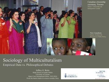 Slides - Munk School of Global Affairs - University of Toronto