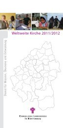 Weltweite Kirche 2011/2012 - Dienst für Mission, Ökumene und ...