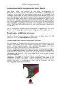 Smart Alpine Anwendung - Mammut - Seite 3