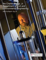 Annual Report Year 2008 - Civil and Environmental Engineering