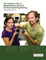 Annual Report Year 2010 - Civil and Environmental Engineering