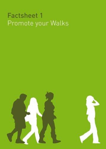 Factsheet 1 Promote your Walks - Sport Wales
