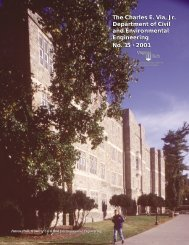 Annual Report Year 2001 - Civil and Environmental Engineering