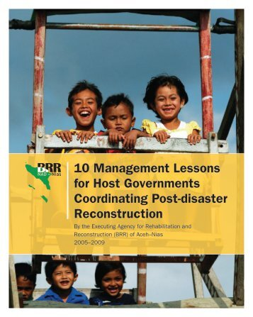 10 Management Lessons for Host Governments Coordinating Post ...