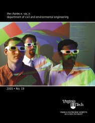 Annual Report Year 2005 - Civil and Environmental Engineering