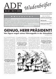Wadenbeißer Nr. 62 vom 28.11.2005 [PDF] - ADF ...