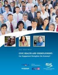 Civic Health and Unemployment: Can ... - Civic Enterprises