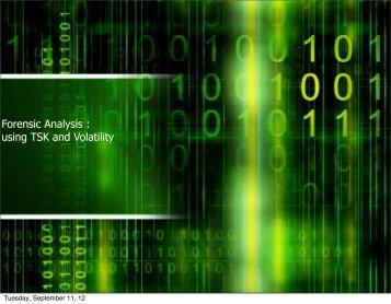 Forensic Analysis - Phoenix ISSA