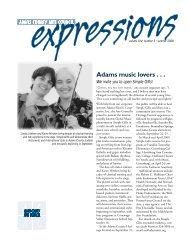 Adams music lovers . . . - Emmitsburg.net