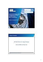 Herausforderungen in der Anwendung von IFRS 3 und IFRS 10 auf ...
