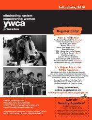 YWCA Princeton Fall 2010
