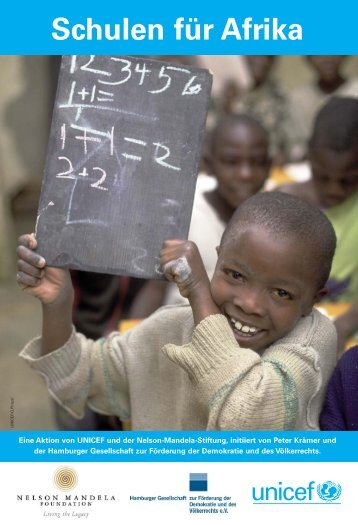 """Schulen für Afrika"" (pdf / 1,67 MB) - younicef.de"