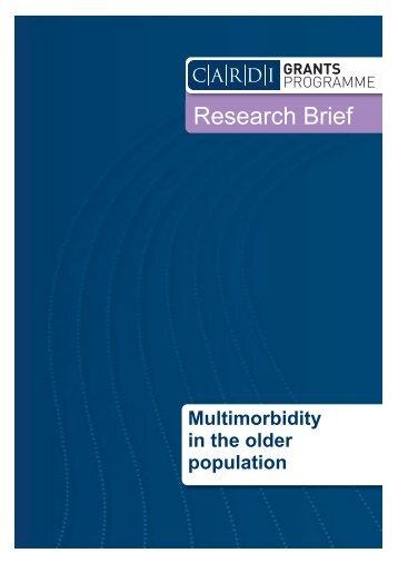 Multimorbidity in the older population - CARDI