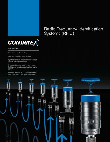 Radio Frequency Identification Systems (RFID)