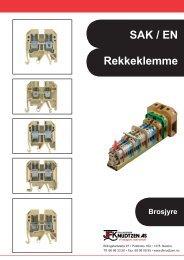 SAK / EN Rekkeklemme - Sivilingeniør JF Knudtzen AS
