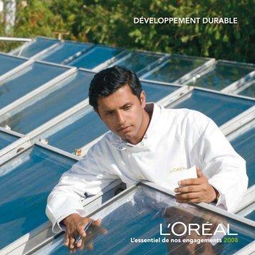 Télécharger la Synthèse Développement Durable 2008 (PDF)