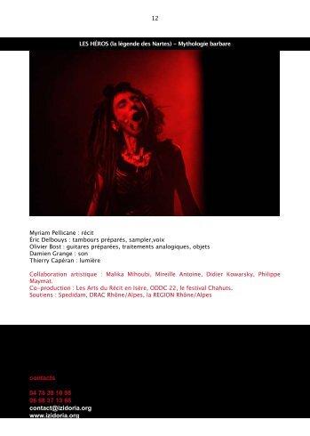 Télécharger le dossier pdf - Myriam Pellicane