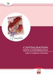 CAPITALISATION - Haussmann Patrimoine