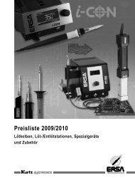 Preisliste 2009/2010 - Wetec