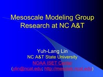 ISET NCAT Modeling Group - MesoLab