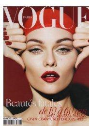 Vogue Novembre 20080.. - Medispa