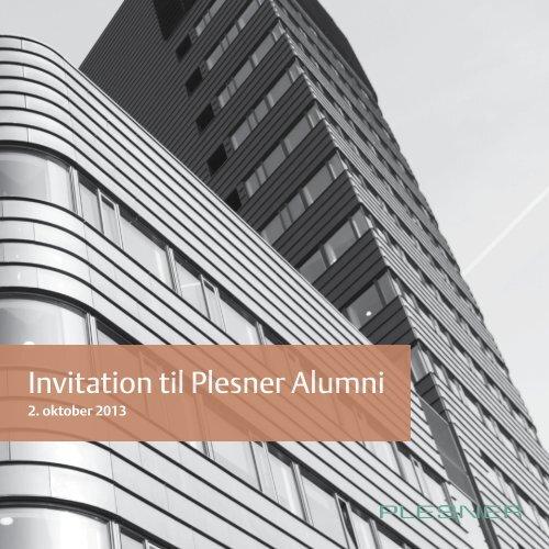 Download invitation - Plesner