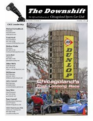 October 2011 - Chicagoland Sports Car Club