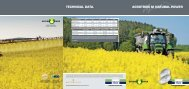 TECHNICAL DATA. AGROTRON M NATURAL POWER