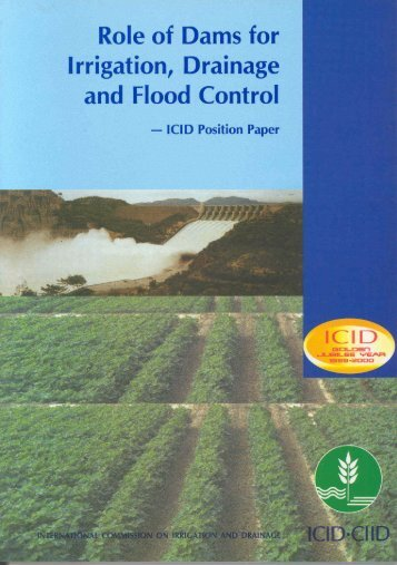 Role of Dams for Irrigation, Drainage and Flood Control (PDF)