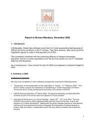 November 2002 - European Association of Historic Towns & Regions